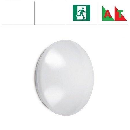 EM-Kosnic Pico-I LED,  Ø 380mm, 18W, met nood (Autotest), 4000K, 1350 lumen