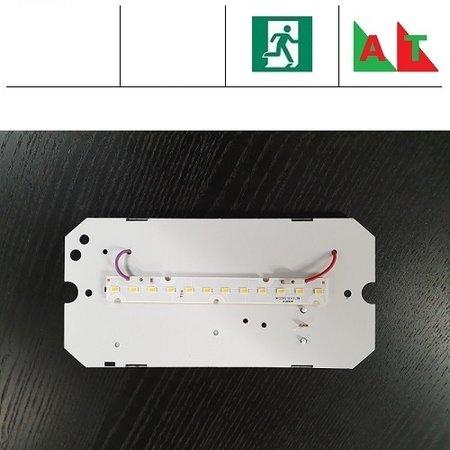 4MLUX TPS/TPK LED module 4W, 510 lumen, met nood (Autotest), 3000 of 4000K