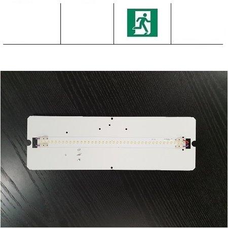 4MLUX PVX LED 5,5W, 700 lumen, met nood, 3000 en 4000K