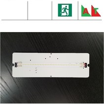 PVX LED 5,5W, 700 lumen, met nood (Autotest), 3000 en 4000K