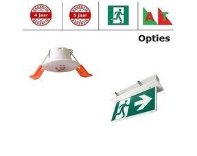 Inbouw LED noodverlichting Pro