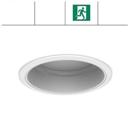 EM-Kosnic Napa LED downlighter, 30W, met nood, 2700/3000 lumen, 3000/4000/6000K Multi-LED kleur