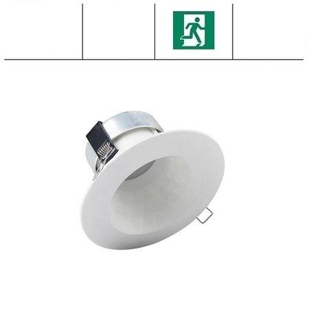 EM-Kosnic Faceta 10W CCT, met nood, 3000/4000/5000K LED downlighter, 550-600 lumen