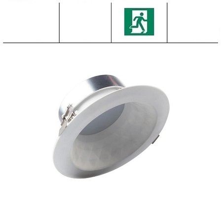 EM-Kosnic Faceta 16W CCT, met nood, 3000/4000/5000K LED downlighter, 1000-1100 lumen