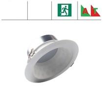 Faceta 16W CCT, met nood (Autotest), 3000/4000/5000K LED downlighter, 1000-1100 lumen