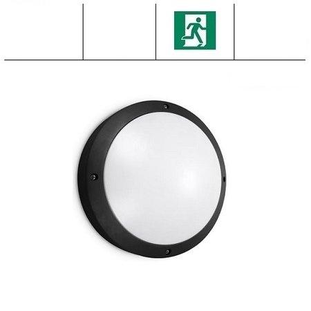 EM-Kosnic Etna LED DD, met nood, met LED PLQ 9/12/18W Multi-wattage en 3000/4000/5000K Multi-kleur instelbare LED lichtbron