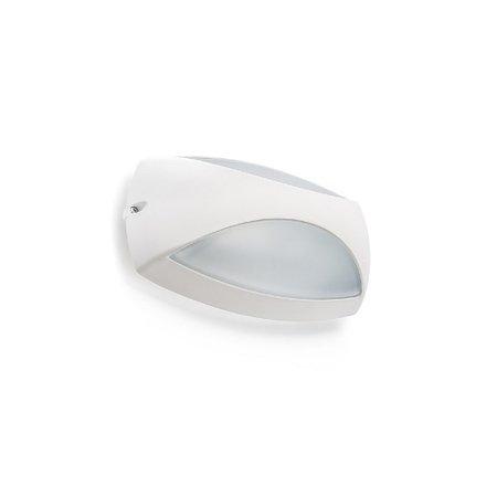4MLUX Elda LED, 8W, 2700, 3000 of 4000K, aluminium behuizing in antraciet, wit of grijs met glazen lichtkap