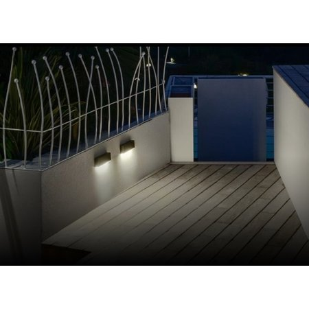 4MLUX Calcolo P LED, 7W, 2700, 3000 of 4000K, aluminium behuizing in antraciet, wit of grijs in standaard of wall washer uitvoering