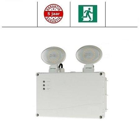 EM - Fox Lux Twin Spot Pro 3W, noodverlichting / anti paniekverlichting,  alleen nood, 350 lumen, IP65