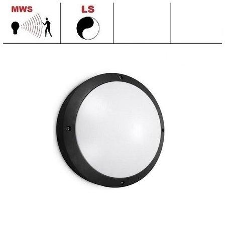EM-Kosnic Etna LED DD, bewegingssensor on/off of on/DIM(corridor-functie), met LED PLQ 9/12/18W Multi-wattage en 3000/4000/5000K Multi-kleur instelbare LED lichtbron