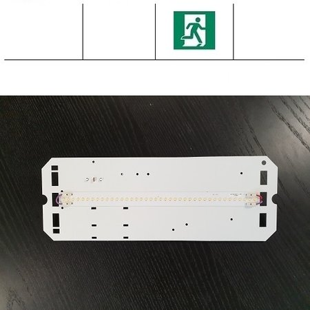 4MLUX TPN LED module 8W, 1050 lumen, met nood, 3000 of 4000K