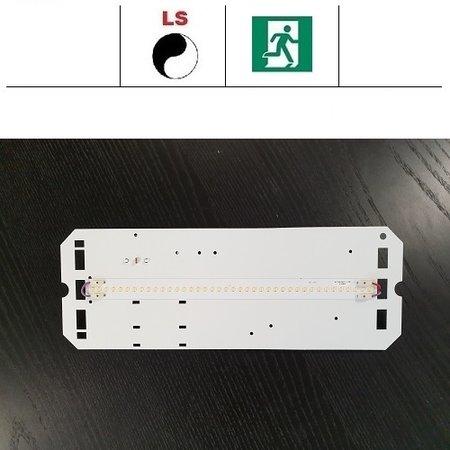 4MLUX TPN LED module 8W, 1050 lumen, met lichtsensor en nood, 3000 of 4000K