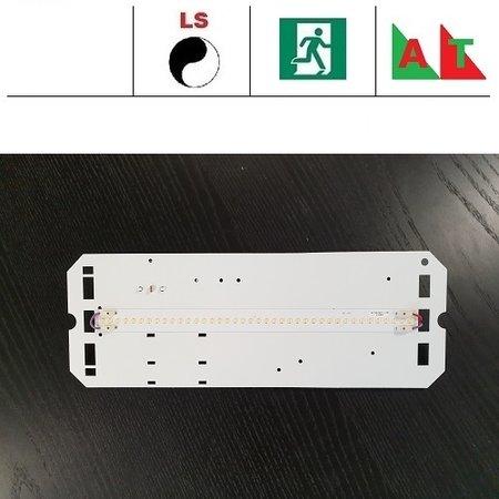 4MLUX TPN LED module 8W, 1050 lumen, met lichtsensor en nood (Autotest), 3000 of 4000K