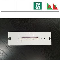 PVX LED 4W, 480 lumen, met nood (Autotest), 3000 en 4000K