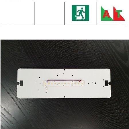 4MLUX PVX LED 4W, 480 lumen, met nood (Autotest), 3000 en 4000K