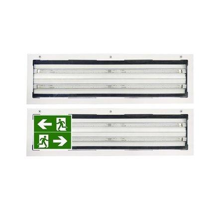 4MLUX FIS 52 LED serie, zone 1, 2, 21 en 22 EX explosieveilige (inbouw) verlichting (ATEX), 52W, 5300 lumen, IP66