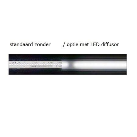 4MLUX FIS 108 LED serie, zone 1, 2, 21 en 22 EX explosieveilige (inbouw) noodverlichting (ATEX), 108W, 10900 lumen, IP66