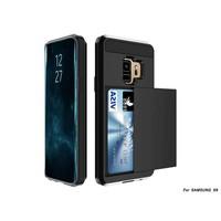 thumb-Samsung S9 Hybrid telefoonhoesje kaarthouder - Zwart-1