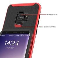 thumb-Samsung S9 Slim Carbon Hybrid telefoon hoesje - Zwart-4