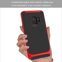 thumb-Samsung S9 Slim Carbon Hybrid Telefoonhoesje - Rood-5