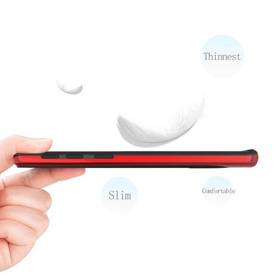 Samsung S9 Slim Carbon Hybrid Telefoonhoesje - Rood-6