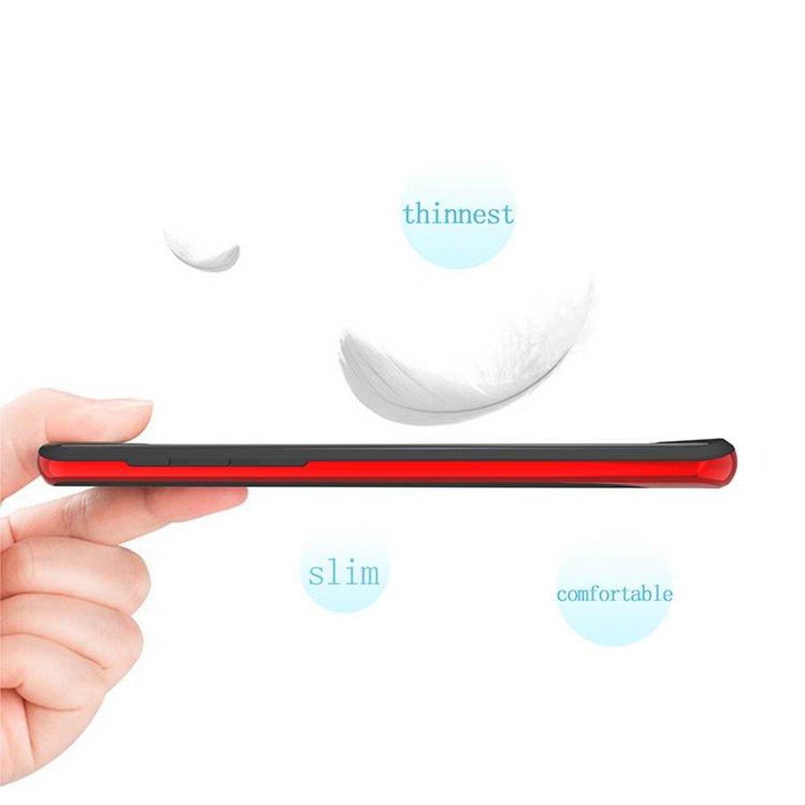 Samsung S9 Plus Slim Carbon Hybrid telefoonhoesje - Rood-4