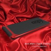 thumb-Samsung S9 Plus Slim Carbon Hybrid telefoonhoesje - Rood-5