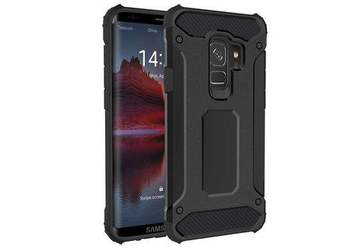 Samsung S9 Heavy armour telefoonhoesje - Zwart