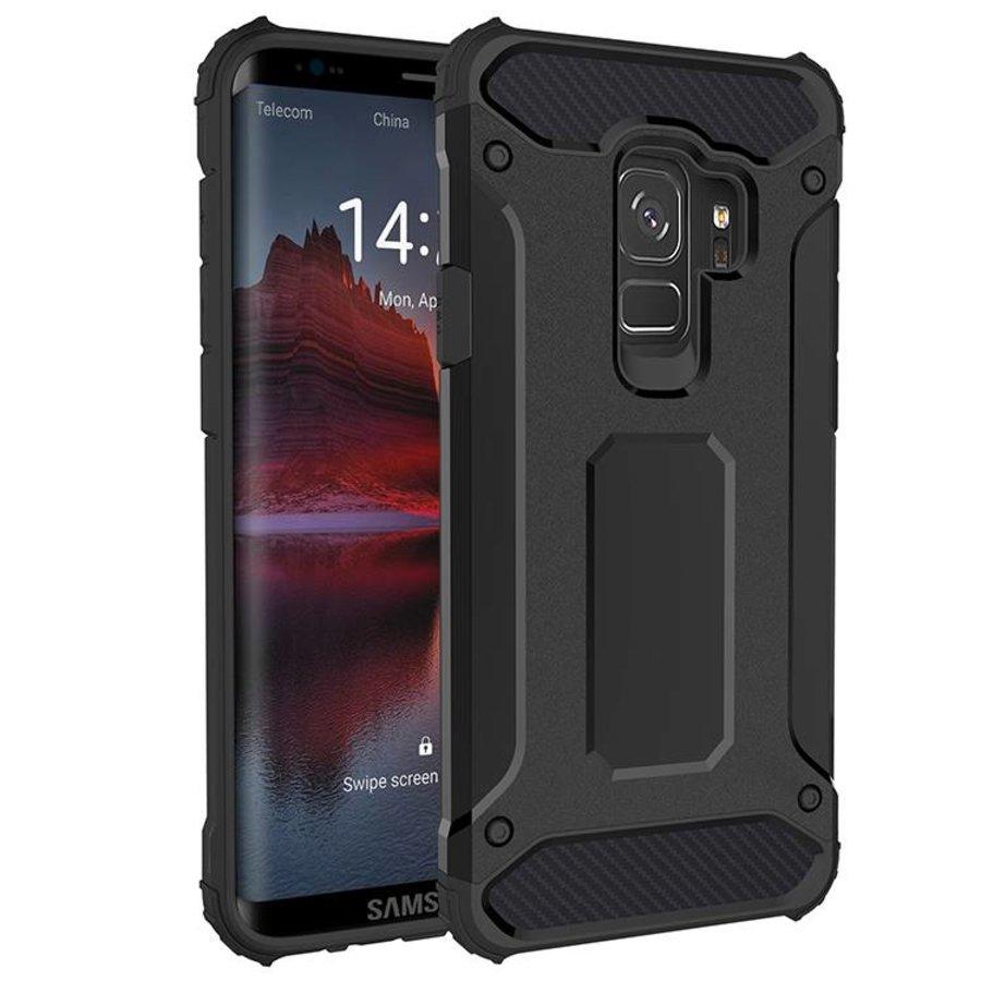 Samsung S9 Heavy armour telefoonhoesje - Zwart-1