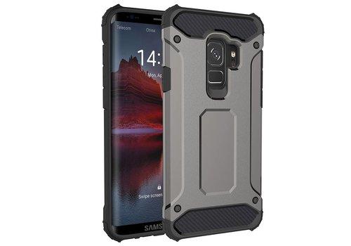 Samsung S9 Heavy armour telefoonhoesje - Grijs
