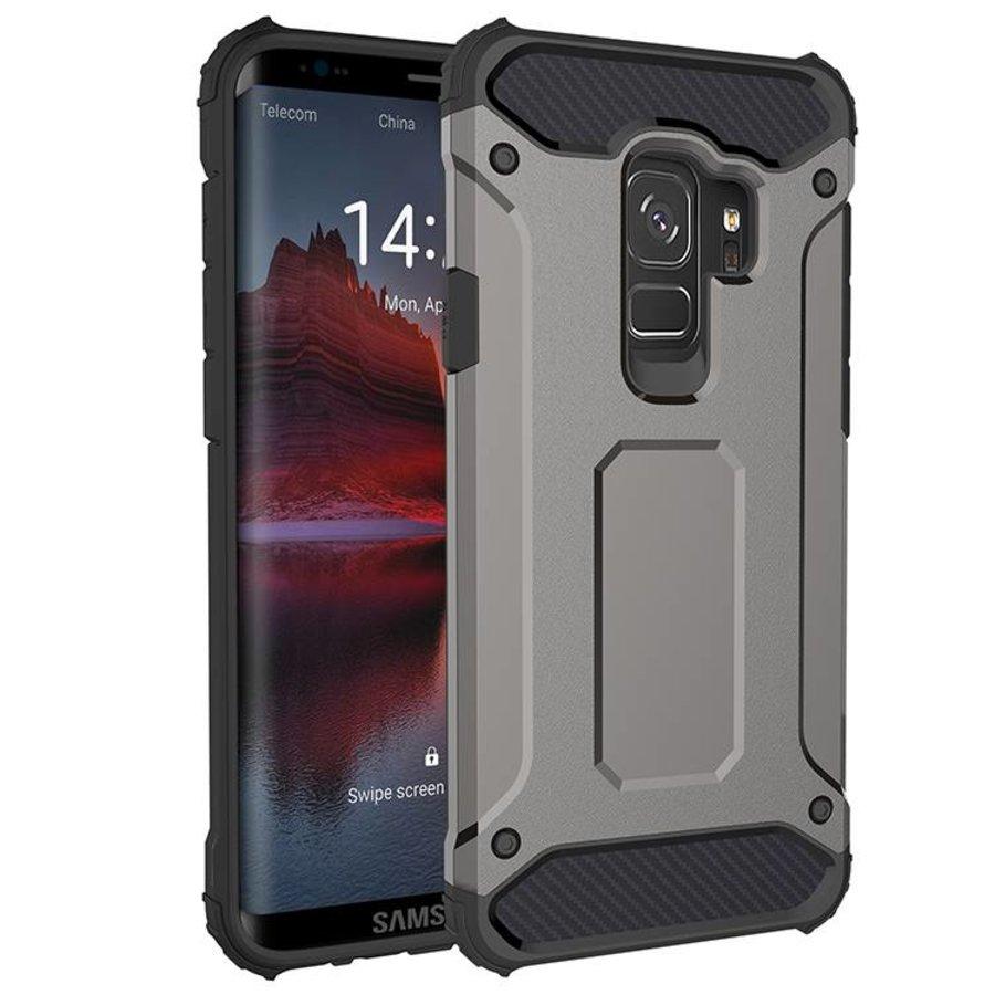 Samsung S9 Heavy armour telefoonhoesje - Grijs-1