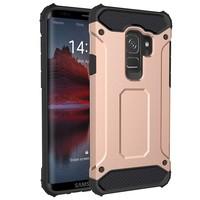 thumb-Samsung S9 Heavy armour telefoonhoesje - Rose goud-1