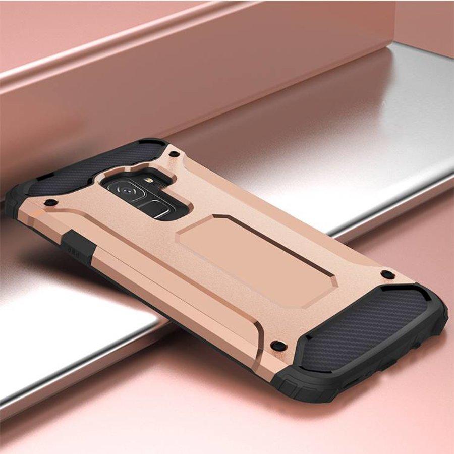 Samsung S9 Heavy armour telefoonhoesje - Rose goud-4