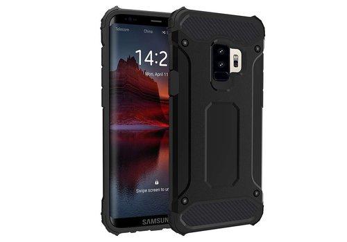 Samsung S9 Plus Heavy armour telefoonhoesje - Zwart