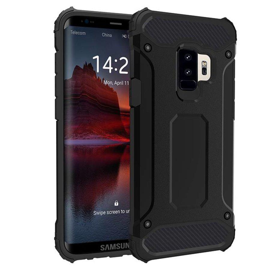 Samsung S9 Plus Heavy armour telefoonhoesje - Zwart-1