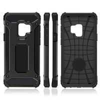 thumb-Samsung S9 Plus Heavy armour telefoonhoesje - Zwart-2