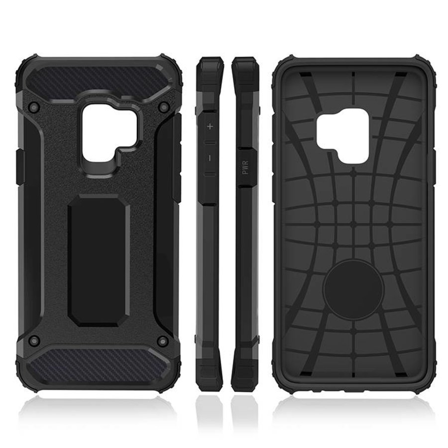 Samsung S9 Plus Heavy armour telefoonhoesje - Zwart-2