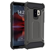 Samsung S9 Plus Heavy armour telefoonhoesje - Grijs