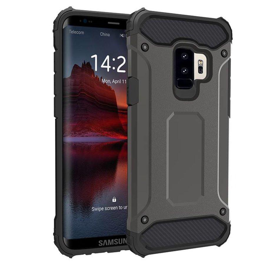 Samsung S9 Plus Heavy armour telefoonhoesje - Grijs-1