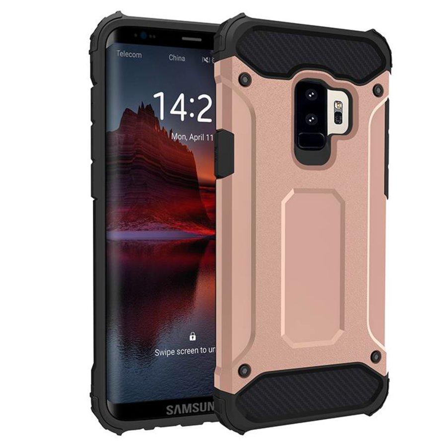 Samsung S9 Heavy armour telefoonhoesje - Rose goud-1