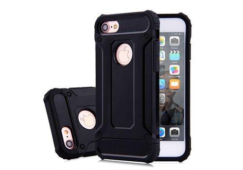 Apple Iphone 7 Heavy armour telefoonhoesje - Zwart