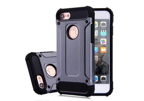 Apple Iphone 7 Heavy armour telefoonhoesje - Grijs