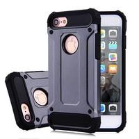 Apple Iphone 8 Heavy armour telefoonhoesje - Grijs