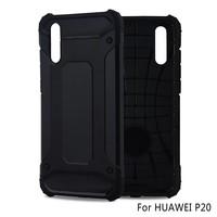 Huawei P20 Heavy armour telefoonhoesje - Zwart