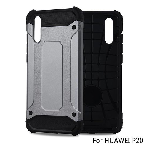 Huawei P20 Heavy armour telefoonhoesje - Grijs