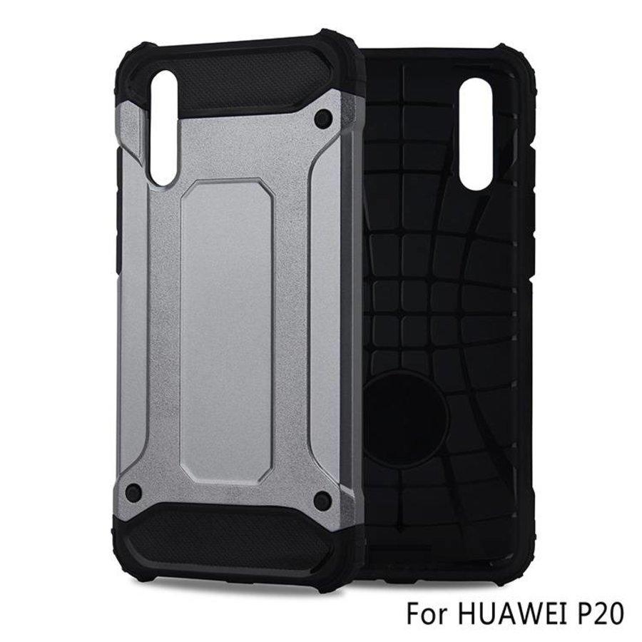 Huawei P20 Heavy armour telefoonhoesje - Grijs-1