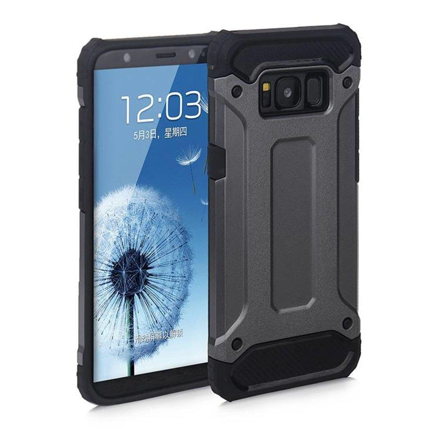 Samsung S8 Heavy armour telefoonhoesje - Grijs-1