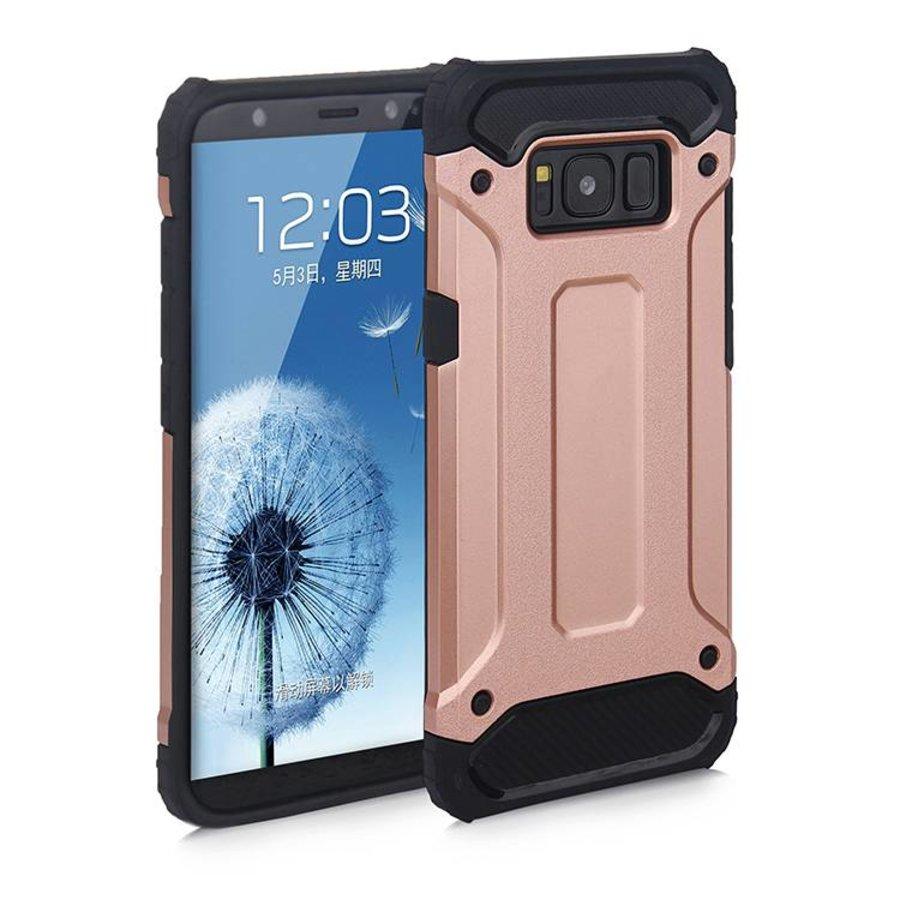 Samsung S8 Heavy armour telefoonhoesje - Rose goud-1