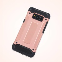 thumb-Samsung S8 Heavy armour telefoonhoesje - Rose goud-2