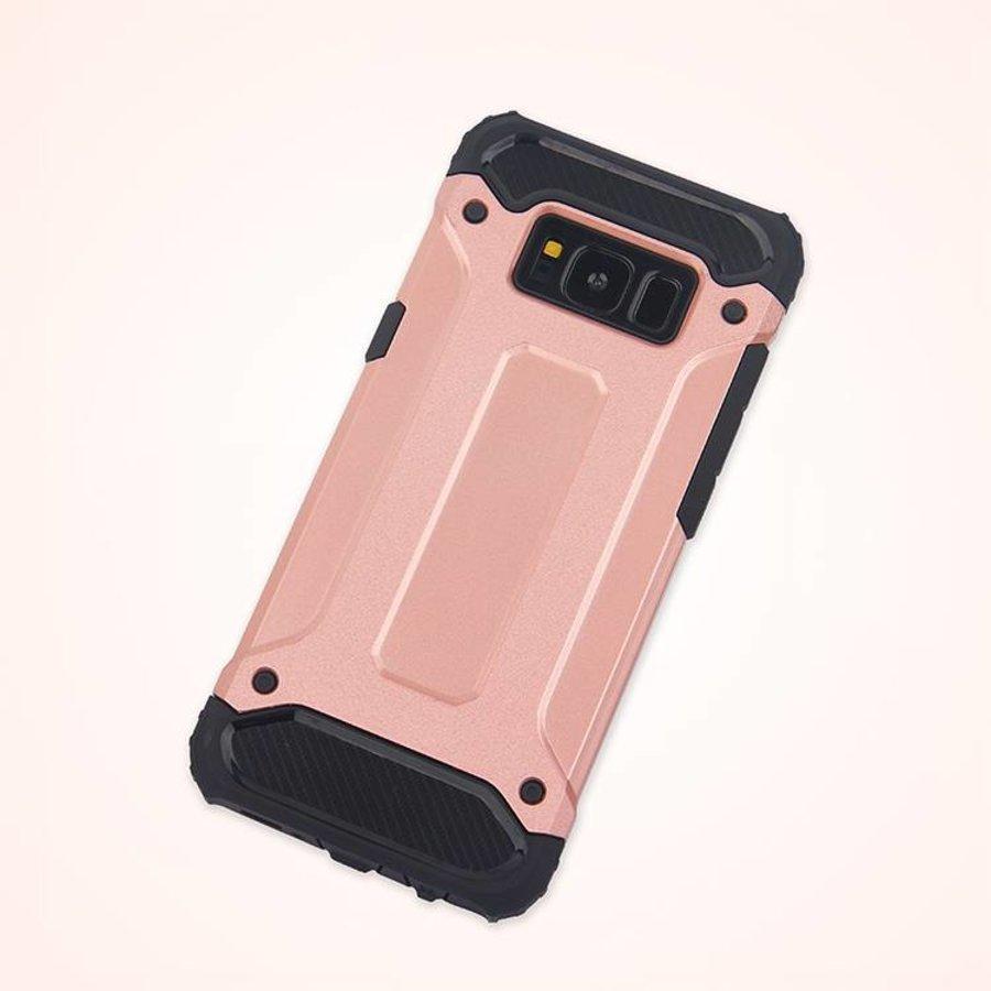 Samsung S8 Heavy armour telefoonhoesje - Rose goud-2